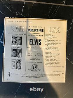 Elvis Reel to Reel It Happened at the Worlds Fair MEGA RARE