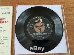 Elvis Super Rare Uruguay Ep Rca Victor 1957 Lado -ave 113-complete- Free Ship