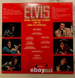 Elvis TV Special ULTRA RARE 50th anniversary red withblack swirl 2018 500 copy