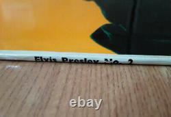 Elvis UK CLP 1105 RocknRoll No. 2 HMV LP RARE 1957 DEEP GROOVE First Pressing