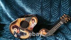 Elvis presley Guitar Cookie Jar Very Rare