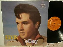 Elvis presleya legendary performer vol. 4. Or. Rca. 1.4848. De 1983 very rare india