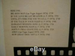 Elvis presleyis alive and well and singing in las vegas vol1p12or. Usa. 79 rare