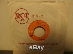 Elvis presleyking créolesgle7. Fr. Juke-box. RCA45314 label orange. Very rare
