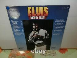 Elvis presleymoody bluelp12or. Fr. Rcapl12428 de 1977-VERY RARE PROMO