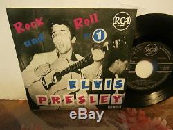 Elvis presleyrock and roll n°1ep7or. Fr. Rca area. Biem 75319.2éme verso rare