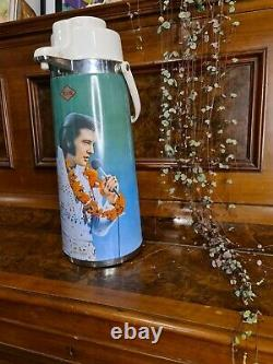 Extremely Rare Elvis Presley King Of Rock Airpot Vintage Never Used Perfect