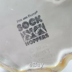 Fitz & Floyd RARE Elvis Presley Bunny Rabbit Ceramic Water Pitcher Large Vintage