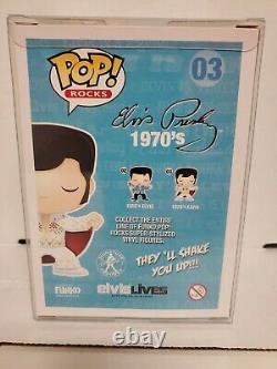 Funko Pop! Rocks 1970's Elvis #03 In Protective Case
