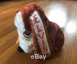 HOUND DOG Plush with Ribbon from ELVIS PRESLEY Summer Festival Concert RARE