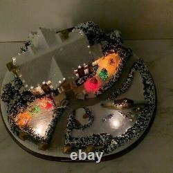 Hawthorne Village Elvis Presley Graceland A Christmas To Remember Lights RARE