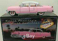 Icons Motor Classics Elvis Presley 1955 Pink Cadillac Fleetwood 124 RARE