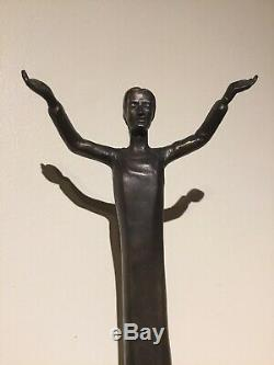 John McIntire Graceland Christ Bronze Statue Gift to Elvis Presley 1965 Rare