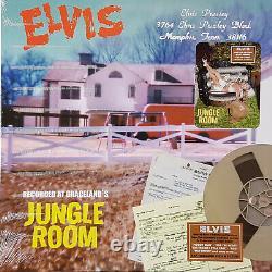 Jungle Room / 3764 Elvis Presley Blvd RARE 10 COPIES MADE diff. Vinyl color A