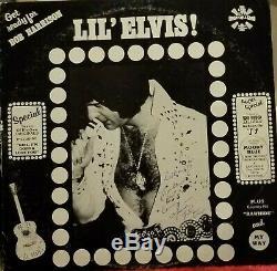 LIL' ELVIS! Vinyl SIGNED by Elvis Presley SUPER RARE