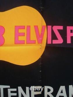LOVING YOU ELVIS PRESLEY Italian 1F movie poster 1959 DAY-GLO inks SUPER RARE