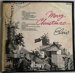 LP 1957 / 1961 Elvis Presley CHRISTMAS ALBUM RCA LOC 1035 s7 RARE GERMANY