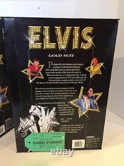 Lot of 3 RARE 1993 Hasbro Elvis Presley UNRELEASED DOLLS Series 2 Prototypes
