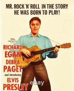 Love Me Tender Rare Insert Movie Poster Elvis Presley