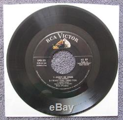 MEGA RARE Elvis Presley SPD-23 ORIGINAL 1956 TRI FOLD EP 45 RPM Record