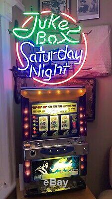 MEGA RARE! Licensed Elvis Presley IGT Las Vegas Slot Machine (COINS INCLUDED) ++