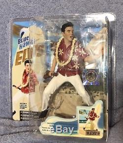 McFarlane Elvis Presley Rare Huge Lot of 8 Figures from 2004-2008MIP
