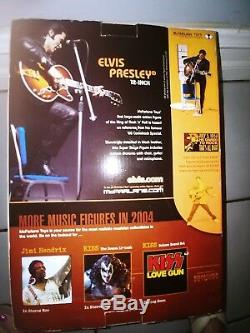 McFarlane Toys Elvis Presley Action Figure Music'68 Comeback Special Rare