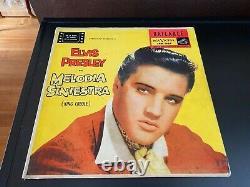 Melodia Siniestra- Argentina Rare Elvis Presley King Creole Stunning Rca Victor