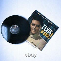 Original 1960 Stereo Elvis Is Back Vinyl Lp Presley Rca Vicor Rare