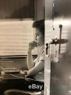 Original Alfred Wertheimer Signed Elvis Presley Photograph 1956 RARE