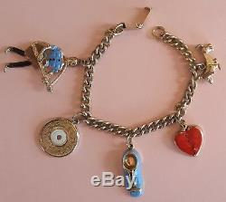 Original ELVIS PRESLEY Charm Bracelet E. P. E.'56 Very RARE Excellent