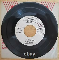 RARE 1956 PROMO Elvis Presley / DINAH SHORE TOO MUCH PLAYING FOR KEEPS DJ-56