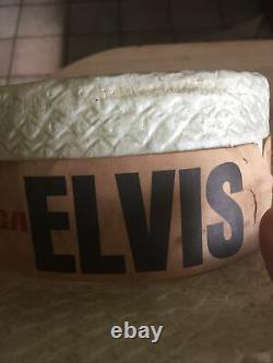 RARE 1970s Elvis Presley Souvenir Summer Concert Tour Hat From Las Vegas Hi