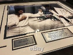 RARE Digital Autographed of Elvis Presley and Muhammad Ali (Cassius Clay)
