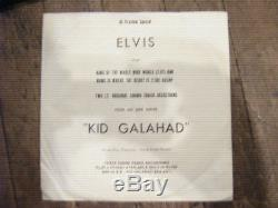 RARE ELVIS PRESLEY 1962 PROMO 45 + SLEEVE King of the Whole Wide World SP-45-118
