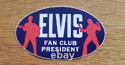 RARE! ELVIS PRESLEY 2020 Fan Club Pres HOLIDAY PROMO CD MINT Insert & Sticker