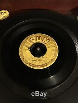 RARE ELVIS PRESLEY 45 RPM SUN 217 ORIGINAL 1955 Push Marks With Warp