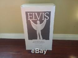 RARE ELVIS PRESLEY McCORMICK WHISKEY LIQUOR ONLY THE LONELY DECANTER MUSIC BOX