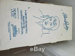 RARE ELVIS PRESLEY PORCELAIN DOLL WithCONCERT TICKET