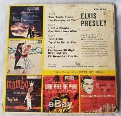 RARE EPB-1254 Elvis Presley Double EP from 1956 45 Record