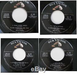 RARE Elvis Presley 1956 SPD-22 Double 45 rpm EP Record RCA Special Promotion