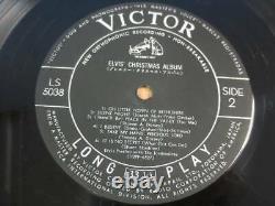 RARE! Elvis Presley ELVIS' CHRISTMAS ALBUM 1957 First Edition LS-5038 JAPAN LP