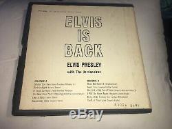 RARE Elvis Presley Elvis Is Back 4-Track Reel To Reel In Rare Box