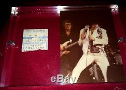RARE Elvis Presley New Years Eve Dec. 31, 1976 Pittsburgh PA Concert Ticket Stub