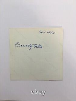 RARE Elvis Presley Original Vintage Photo BEVERLY HILLS CA. NOV 1970 ULTRA RARE