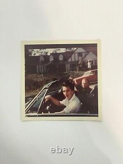 RARE Elvis Presley Original Vintage Photo WithMARTY 4 x 4 Taken In July 1968