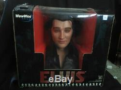 RARE Elvis Presley WowWee Animated Singing/Talking Bust NEW Unopened box