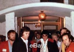 RARE GREEN Elvis On Tour Show Member / Estate Of Sonny West