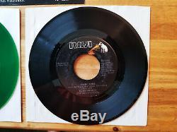 RARE GREEN VINYL PROMO Elvis Presley LOVIN ARMS / YOU ASKED ME TO JB-12205