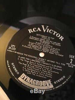 RARE INCL. ELVIS PRESLEY Pop Promo/Sampler RCA SPS 33 series VICTOR/CAMDEN